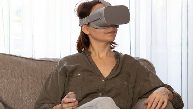 Virtual reality-game vermindert pijn