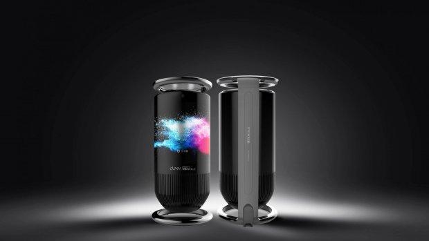 Deze slimme speaker is omwikkeld met een touchscreen