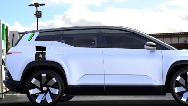 Elektrische Fisker Ocean is concurrent voor Tesla Model Y