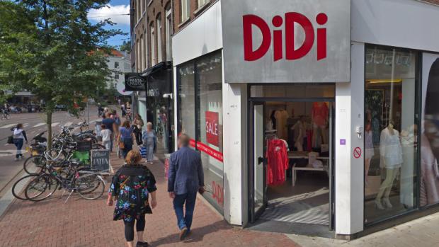 Modeketen Didi failliet verklaard, winkels blijven voorlopig open