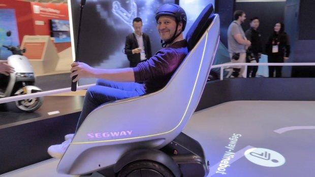CES 2020: vliegende Uber, Avatar-auto en Segway-stoel