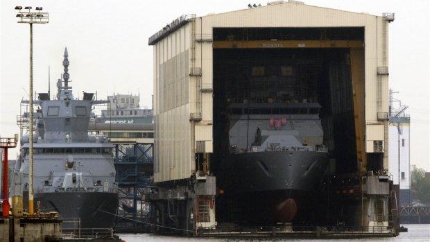 Damen sleept Duitse miljardenorder voor vier oorlogsschepen binnen
