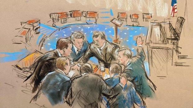 Tekenaars spelen hoofdrol in Senaat bij afzettingsprocedure Trump