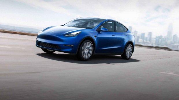 Tesla start officieel met leveren Model Y