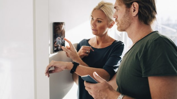 'Installatietechniek in trek door smart home'