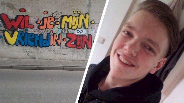 Ultieme liefdesbetuiging eindigt voor Fabian (17) bij bureau Halt