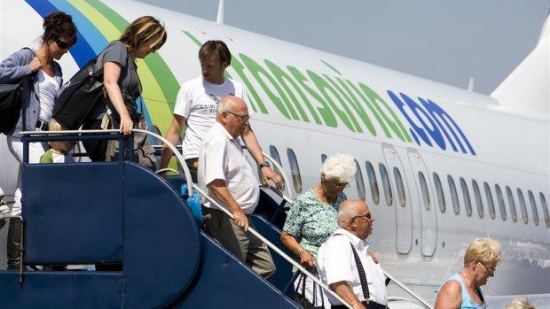 Passagiers Transavia gaan betalen voor handbagage