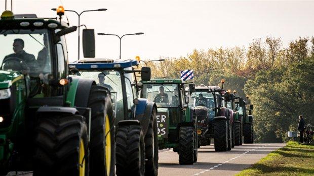 Boeren woensdag weer de weg op: verkeershinder verwacht