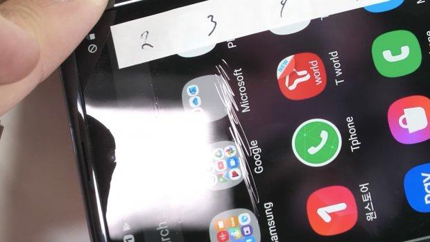 'Scherm Galaxy Z Flip ondanks dun glas krasgevoelig'
