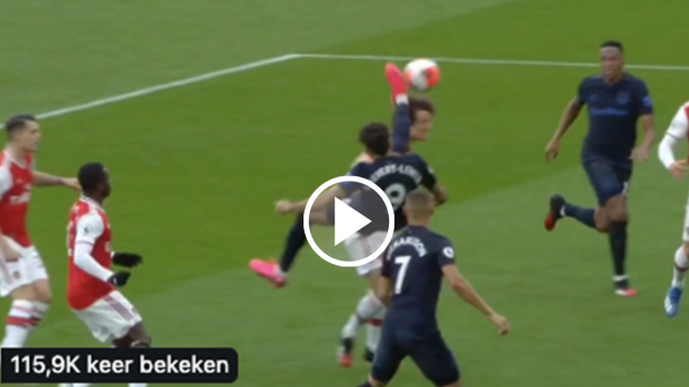 Is dit Zlatan Ibrahimović of Dominic Calvert-Lewin ⁉😳