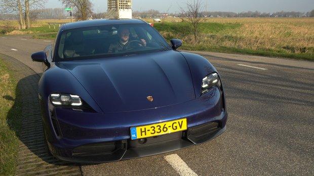 Getest: de snelste elektrische Porsche