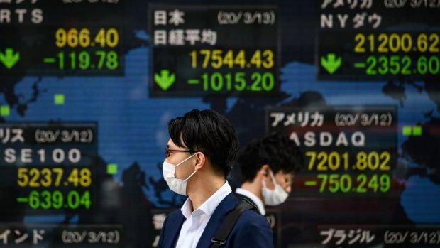 Weer forse verliezen op beurzen Azië: Nikkei daalt 6 procent