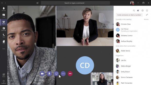Microsoft Teams laat gebruikers tussen zakelijk en privé wisselen