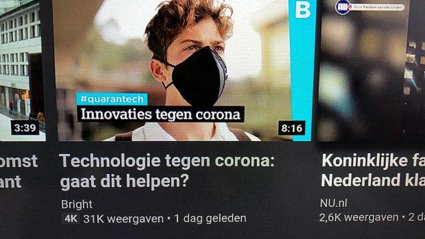 YouTube toont lijst met betrouwbare coronavideo's