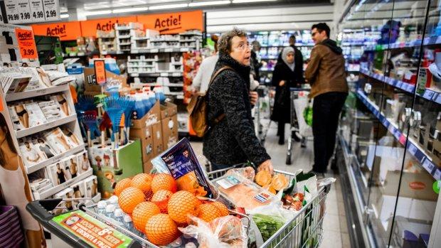 Omzet supermarkten door hamsteren hoger dan met kerst