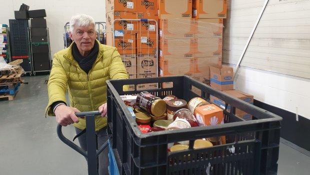 'Het gaat nog pittiger worden', zegt Niek van de Voedselbank