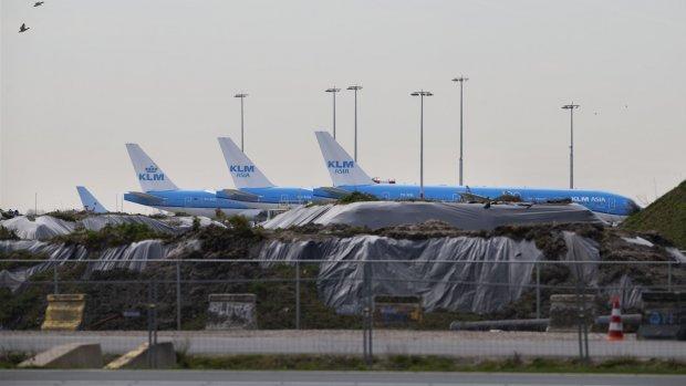 Aalsmeerbaan Schiphol tijdelijk parkeerplaats voor vliegtuigen