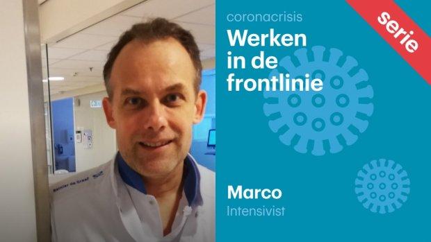 Ic-arts Marco bereidt zich voor op piek: 'Code zwart? Dan moet ik misschien nee verkopen'