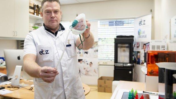 Tilburgs ziekenhuis 3D-print ventielen van zuurstofmaskers