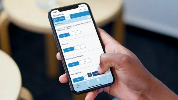 App houdt verspreiding van coronavirus in Nederland bij