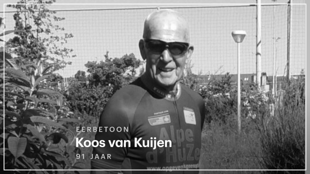 'Mijn vader fietst boven een ereronde, dat heeft hij wel verdiend'