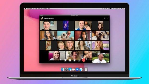 Videobelfunctie Facebook met tot 50 mensen nu beschikbaar