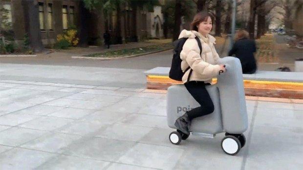 Deze opblaasbare e-bike past in je rugzak