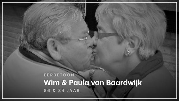 'Het is een troost dat opa en oma maar een paar dagen zonder elkaar leefden'