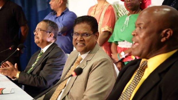 Grootste concurrent Desi Bouterse wint Surinaamse verkiezingen