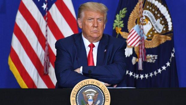 'Trump zwakte gevaren coronavirus bewust af'
