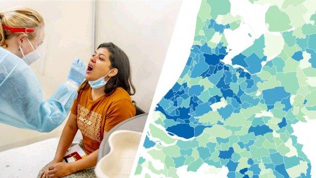 Aantal besmettingen stijgt: dit zijn de cijfers in jouw regio