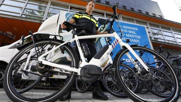 Dit is de nieuwe e-bike van de politie