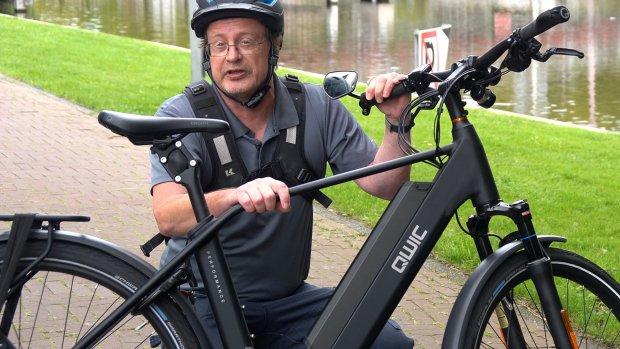 Deze e-bike is razendsnel, muisstil en toch veilig