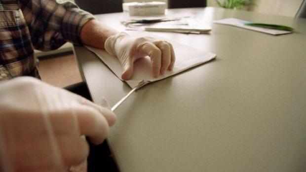 Huisverkopers krijgen dreigbrief met poeder