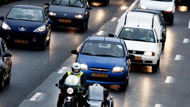 Veel ongelukken in de ochtendspits: 600 kilometer file