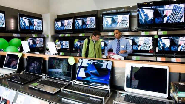 Weinig interesse voor failliete elektronicaketen Scheer & Foppen