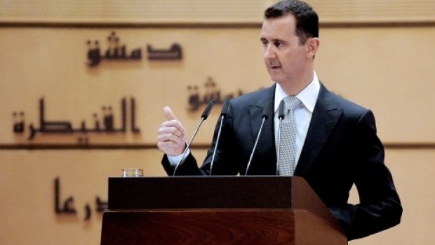 Assad condoleert Poetin na neerhalen vliegtuig
