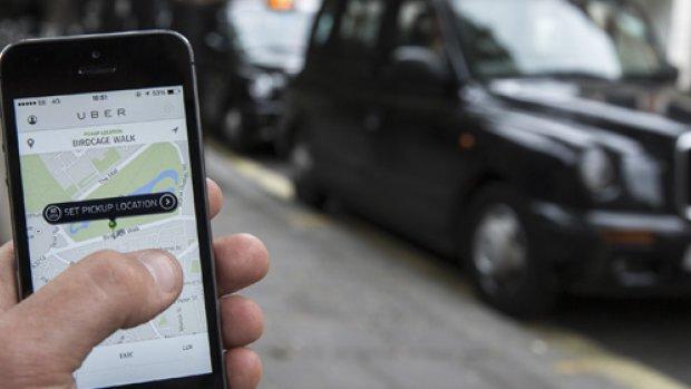 'Honderden Uber-taxichauffeurs rijden onder valse naam'