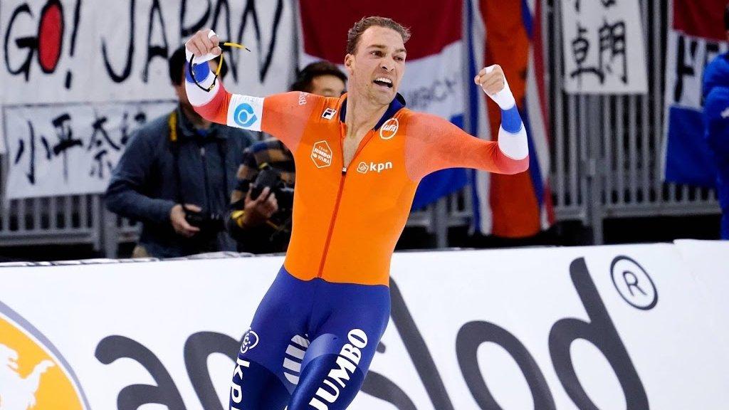 Kjeld Nuis won goud op de 1500 meter.