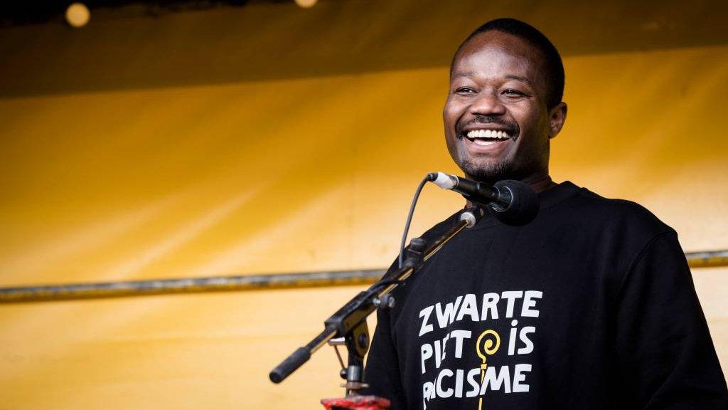 Jerry Afriyie van Kick Out Zwarte Piet
