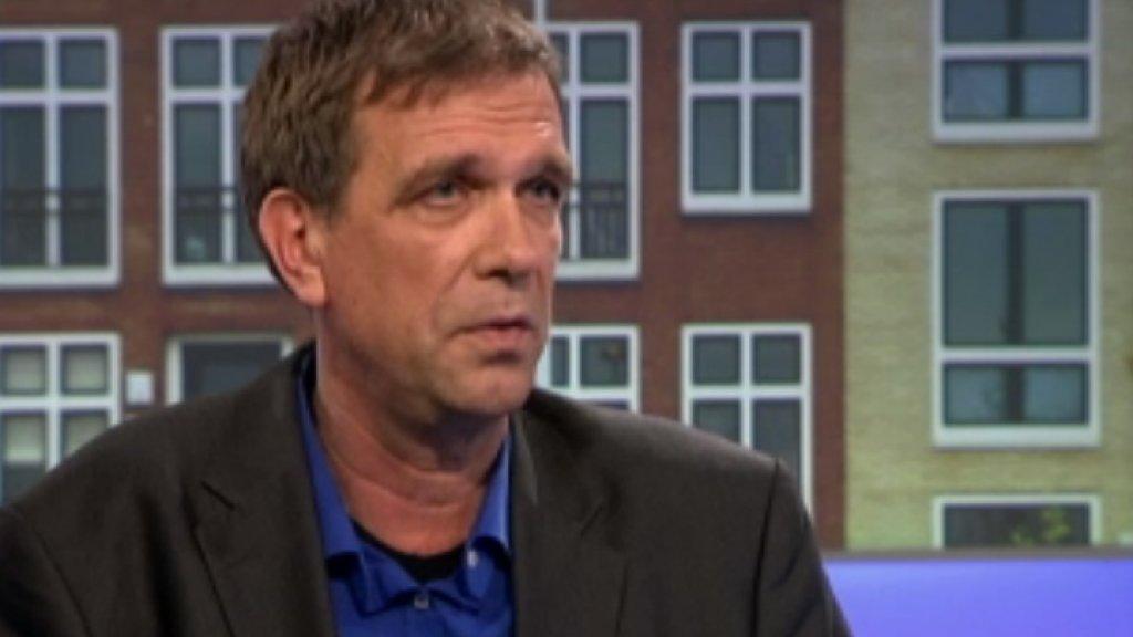 Hoogleraar Peter Boelhouwer maakt zich zorgen of met binnenstedelijk bouwen wel genoeg woningen worden gerealiseerd.