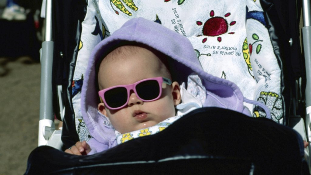 baby zonnebril ray ban