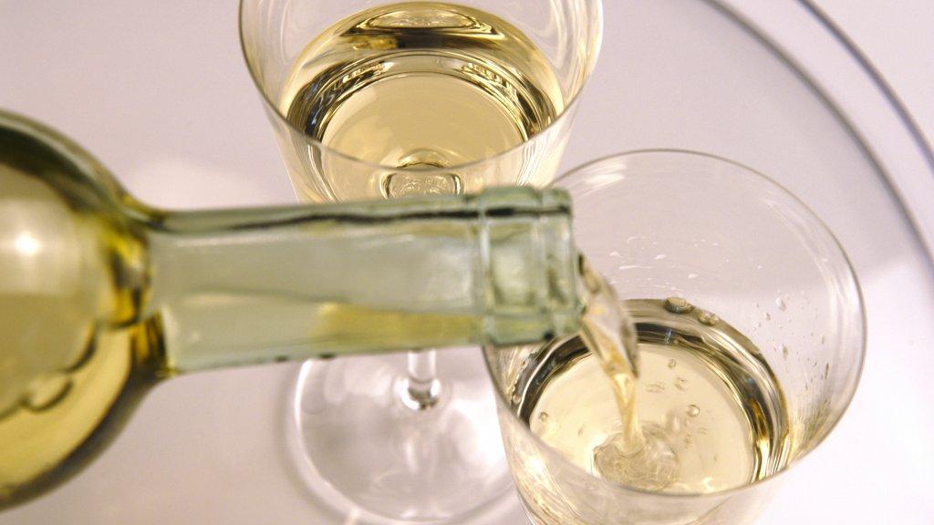 calorieen glas wijn wit