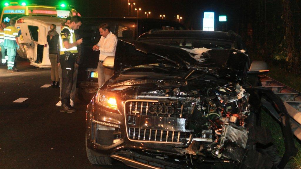 Zes Auto S Betrokken Bij Ongeluk Christijan Albers Rtl Nieuws
