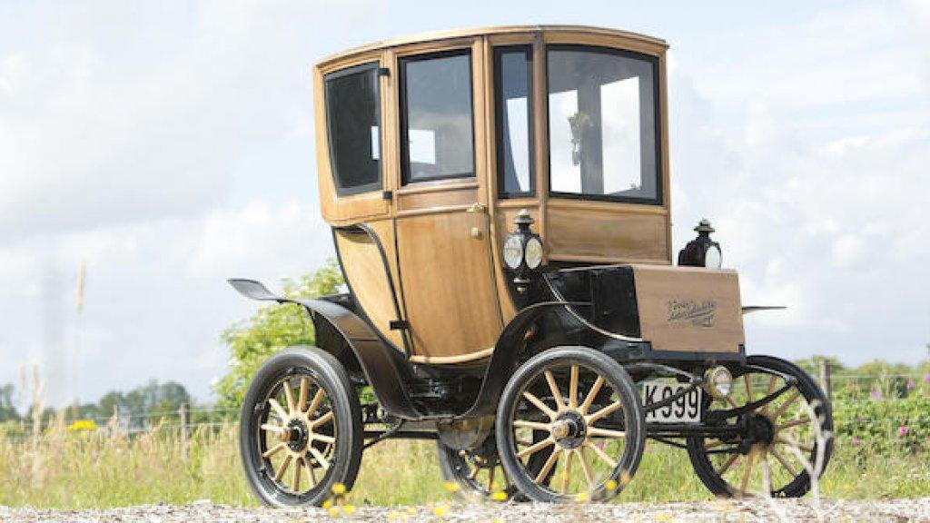 Deze 110 Jaar Oude Elektrische Auto Is Verkocht Voor 85 000 Euro