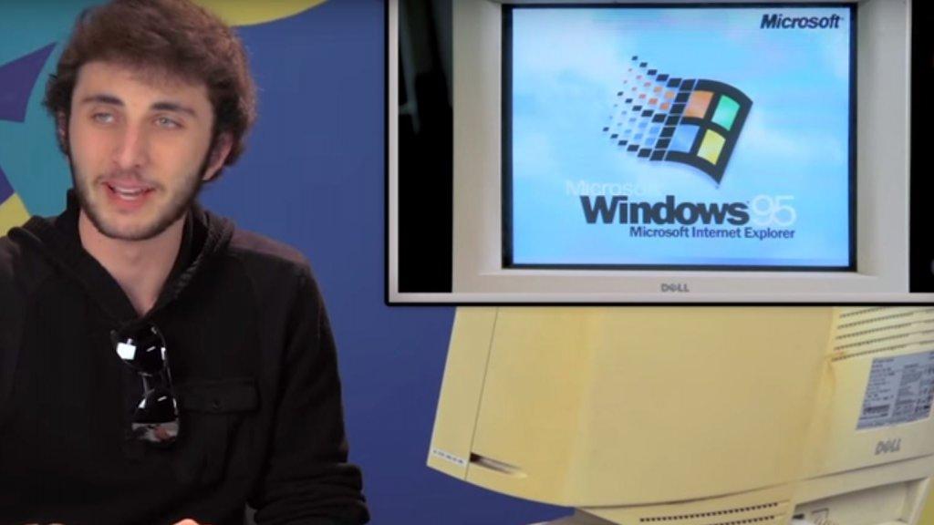 Zo kijken tieners naar Windows 95, 'het is prehistorisch