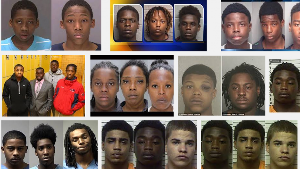 donkere zwarte tieners