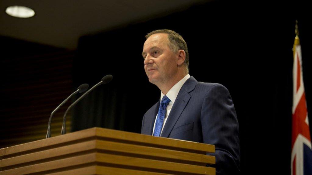 Premier Nieuw-Zeeland Kiest Voor Familie En Treedt