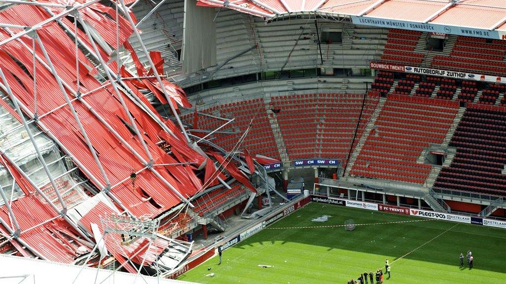 Schikking Bouwbedrijven Na Instorten Dak Stadion Fc Twente Rtl Nieuws