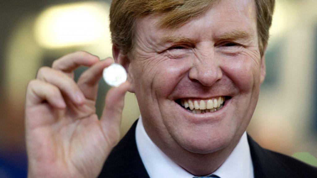 Speciale Munt Voor Vijftigste Verjaardag Koning Willem Alexander